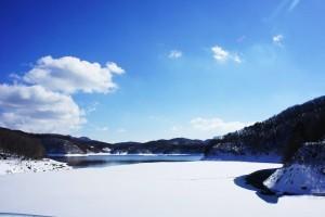 223羽鳥湖雪まつり